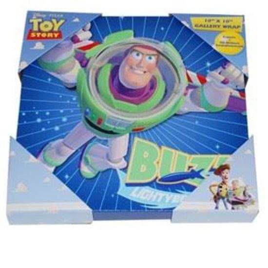 """Disney Pixar Toy Story 10X10"""" Art Canvas"""