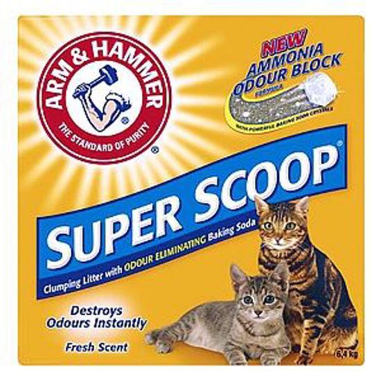Arm & Hammer Super Scoop Cat Litter 6.4Kg