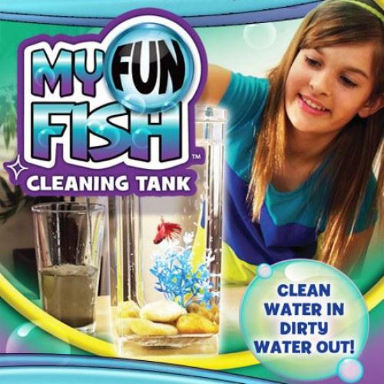 My Fun Self Cleaning Fish Tank