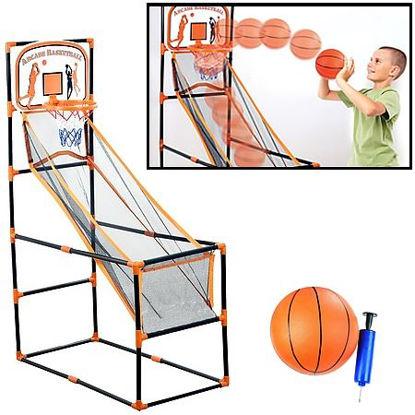"Arcade Basketball Game Set 56""X35.5""X18.5"""
