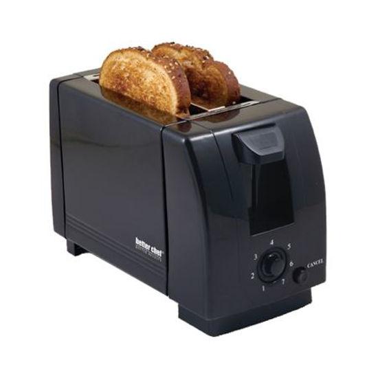 Better Chef 2 Slice Toaster-Black