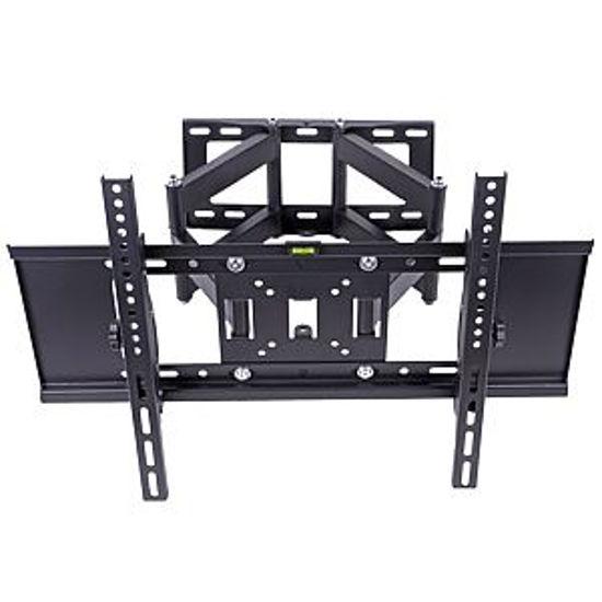 "Cj Tech 32-65"" Double Arm Articulating Tv Wall Mount"
