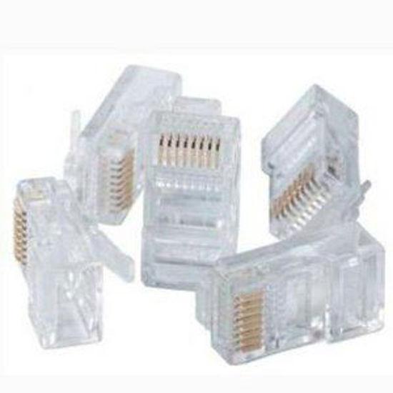 CAT5E RJ45 CONNECTORS - 10-PACK