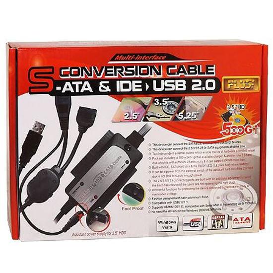 "USB 2.0 IDE & SATA 2.5""/3.5"" HARD DRIVE ADAPTER"
