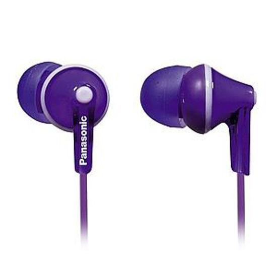 Panasonic Rp-Hje125 Ergofit Violet Earbuds