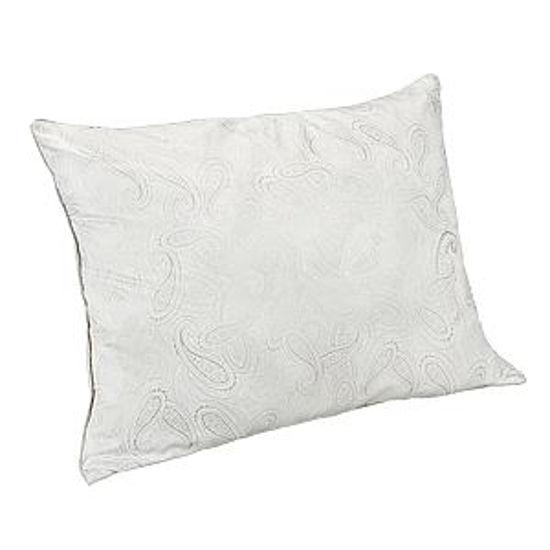 Serene Dreams Paisley Print Pillow-Standard Size