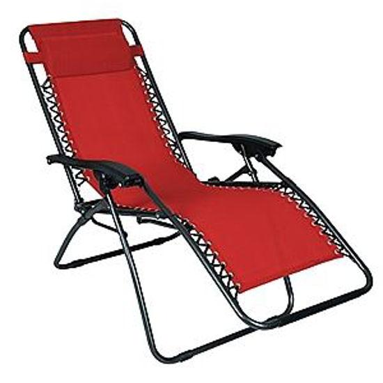 Arctic Sky Zero Gravity Chair-Red