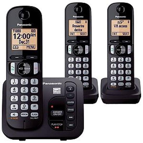 Panasonic Kxtgc253c Dect6.0 Exp.Cls 3Hs Phn W/An