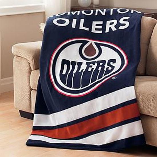 Sunbeam Nhl Heated Throw-Edmonton Oilers