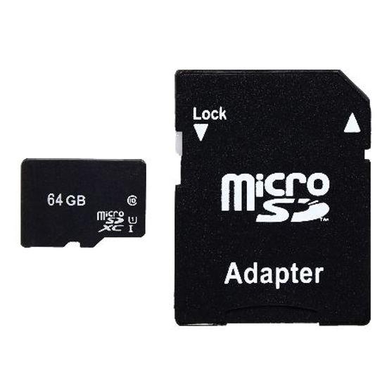 Microsdxc Uhs-I Class 10 64Gb W/Adapter
