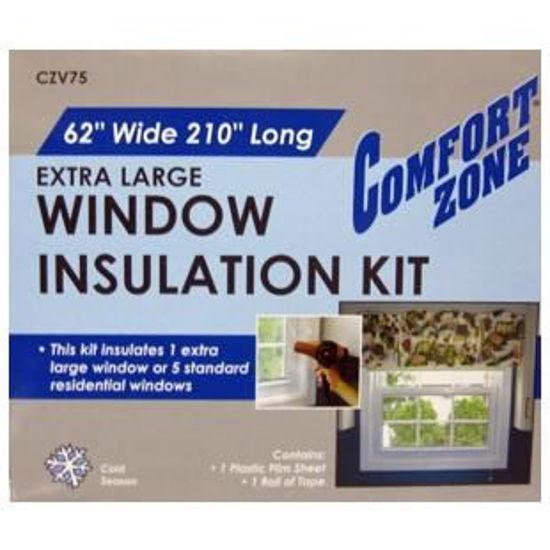 """Window Insulation Kit - 62""""X210""""(5Pk)"""