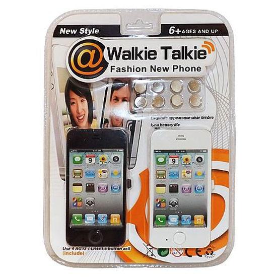 Cell Phone Style Walkie Talkies