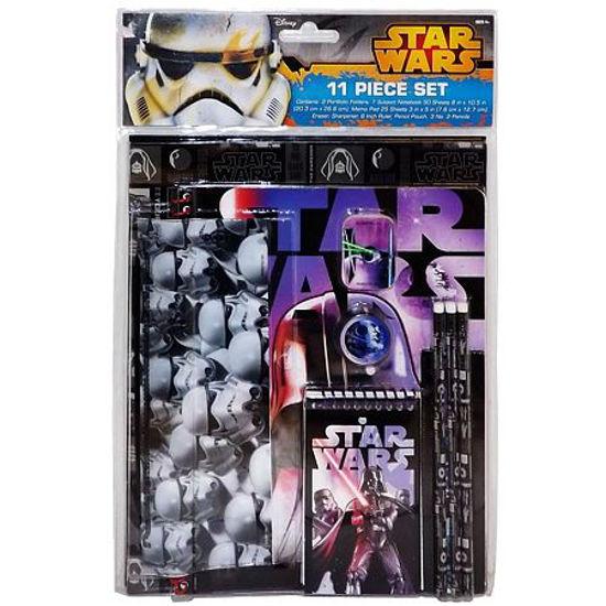 Star Wars Back To School Stationary Set 11Pc