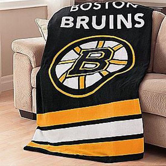 Sunbeam Nhl Heated Throw-Boston Bruins