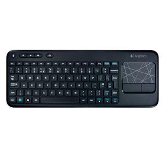 Logitech K400r Wireless Touch Keyboard (Black)
