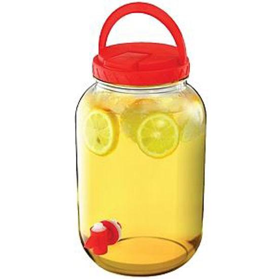 Beverage Dispenser 1 Gallon Red