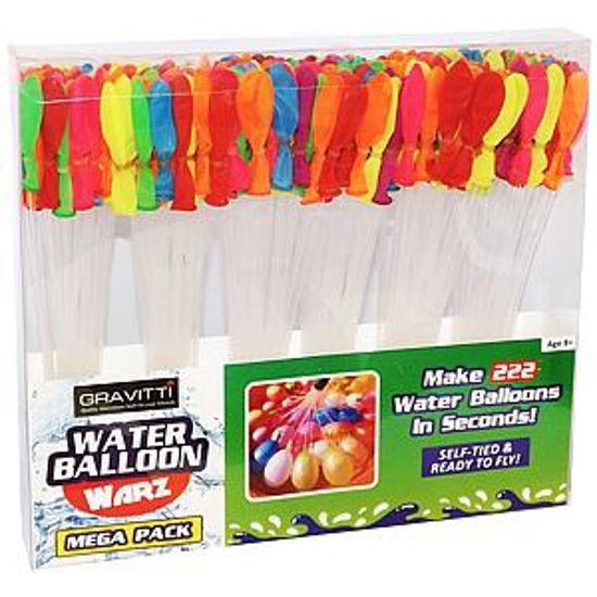 Gravitti Water Balloon Warz Mega Pack