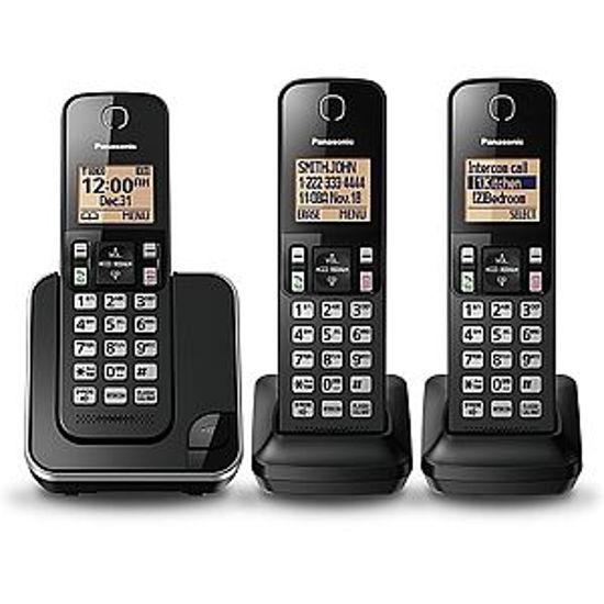 Panasonic Kxtgc383 Dect 6.0 3Hs Exp.Crdls Phn