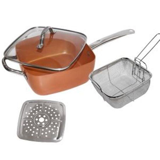 Gravitti 5-In-1 Copper Cookware Set