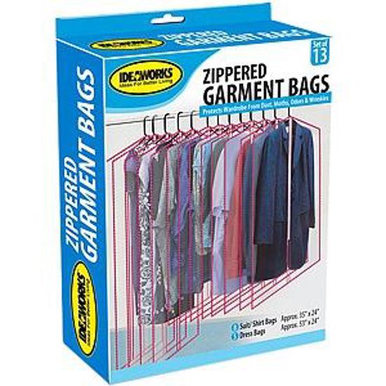 IDEAWORKS GARMENT BAGS-13PK