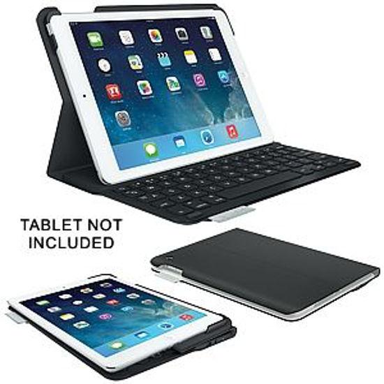 Logitech Type+ Keyboard Folio F/Ipad Air (Carbon)