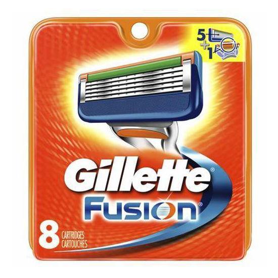 Gillette Fusion Power Blade Refills- 8 Cartridges