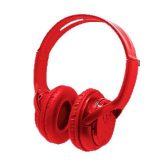 2Boom Tune Bluetooth Headphones (Red)