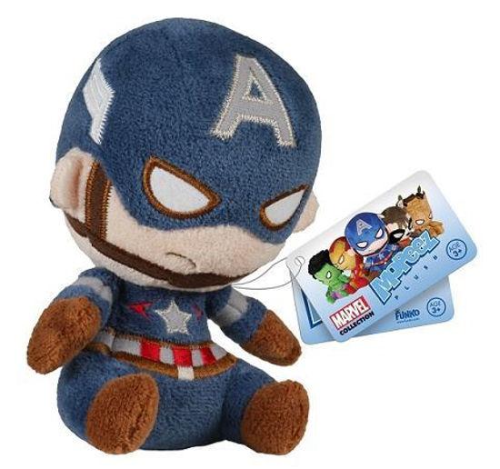 Mopeez Heros Plush- Captain America