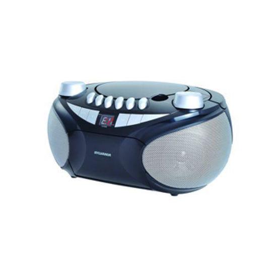 Sylvania Srcd286 Port.Cd/Am/Fm/Cassette Boombox