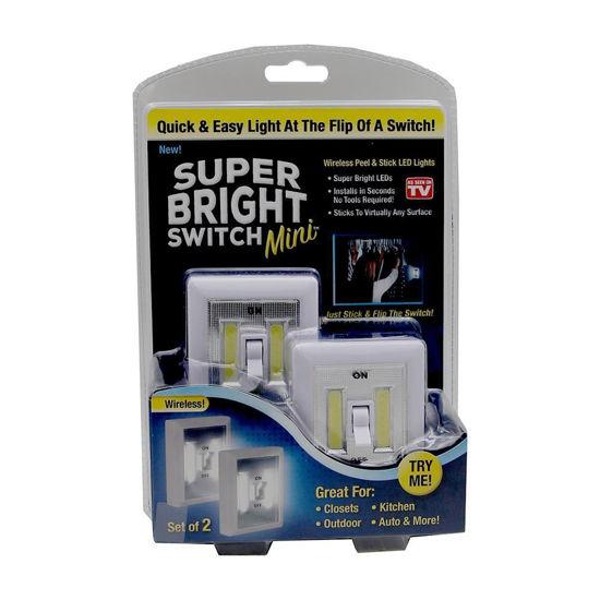 As Seen On Tv Super Bright Switch Mini-2Pk