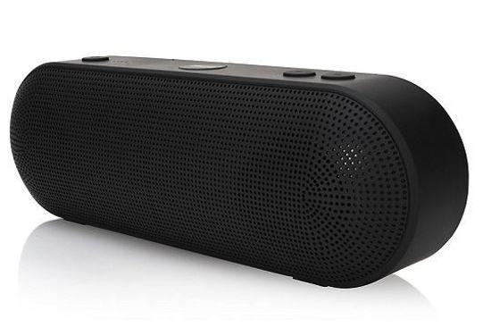2Boom Go Splashproof Bluetooth Speaker (Black)