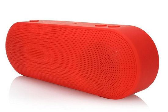 2Boom Go Splashproof Bluetooth Speaker (Red)