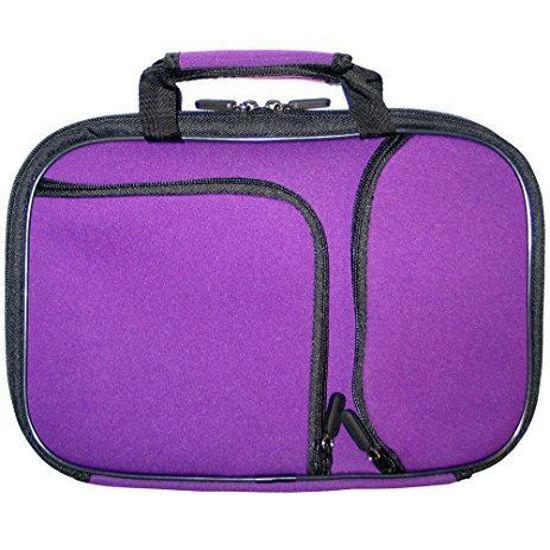 "Pocket Pro 10"" Netbook/Tablet Carry Case (Purple)"