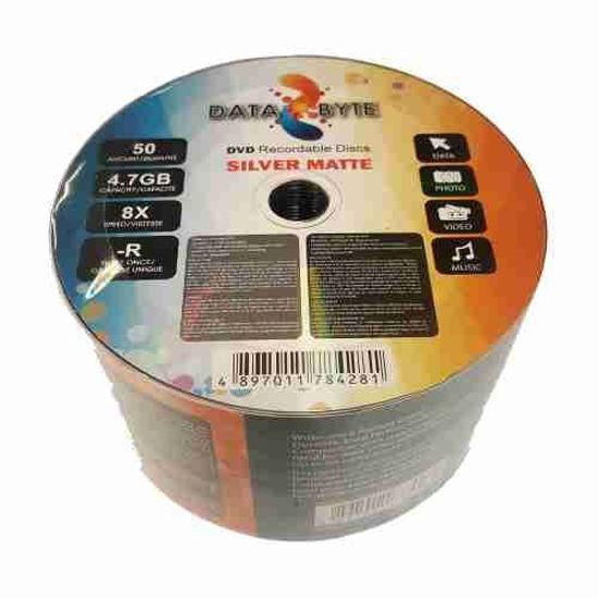 Databyte 8X Dvd-R 50-Pack Media