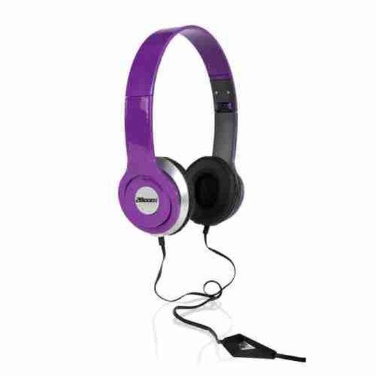 2Boom Hpm250 Stereo Headphones (Purple)