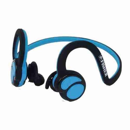 Fisher Flex Wraparound Bluetooth Earphones (Bk/Bl)