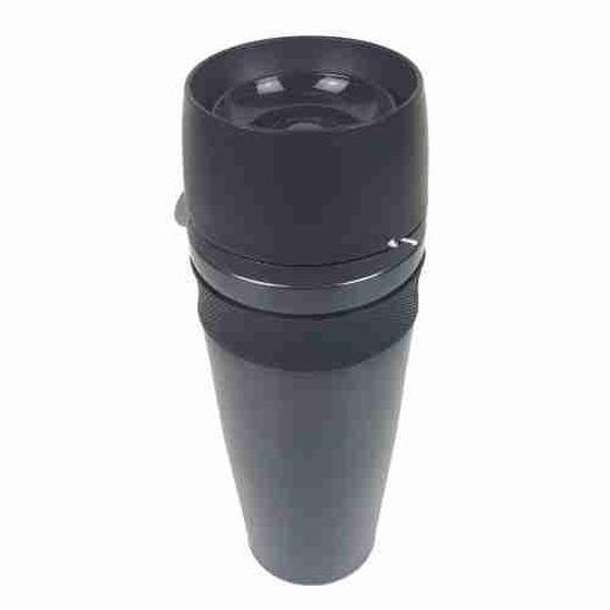 Stainless Steel Travel Mug 14Oz-Black