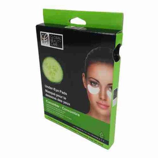 Global Beauty Under Eye Pads - Cucumber 2Pk