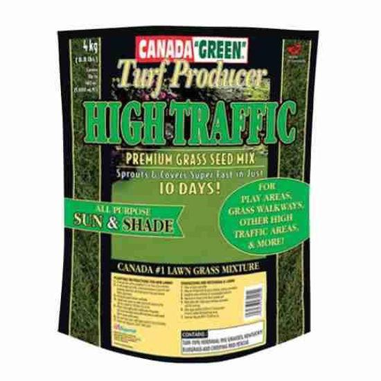 Canada Green High Traffic Grass Seed - 4Kg