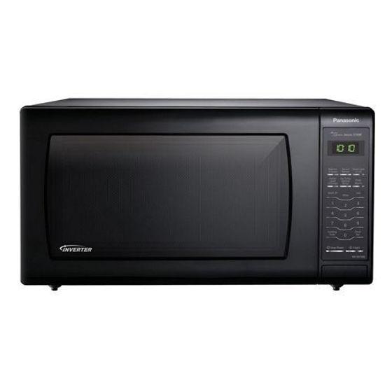 Panasonic 1.6 Cu.Ft. Inverter Microwave (Black)