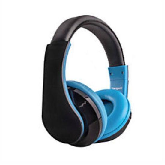 Targus Over-The-Ear Studio Headphones W/Mic (Blue)