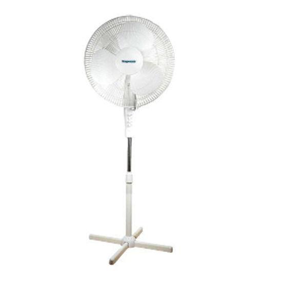 "Impress 16"" Oscillating Stand Fan - White"