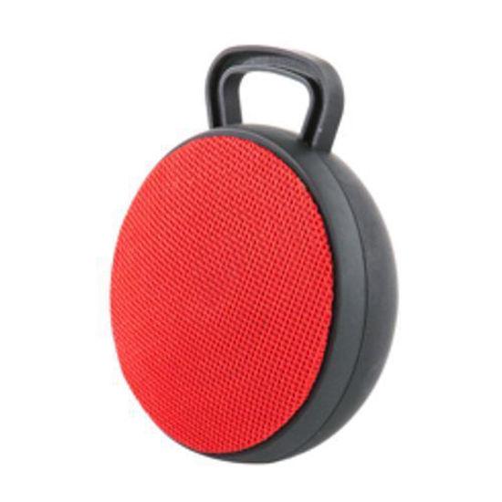 Qfx Bt-50 Bluetooth Loud Speaker (Red)