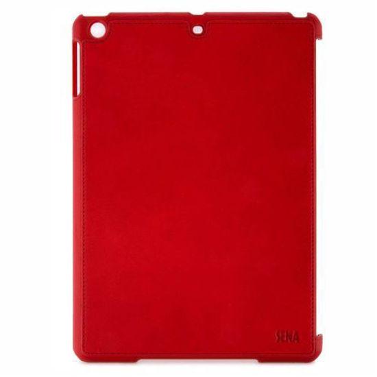 SENA LUGANO LEATHER CASE F/IPAD AIR 1/2 (RED)