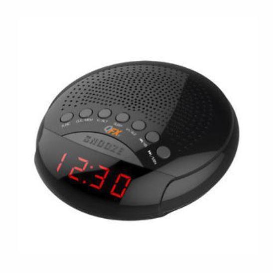 QFX CR-30 AM/FM DUAL ALARM CLOCK RADIO