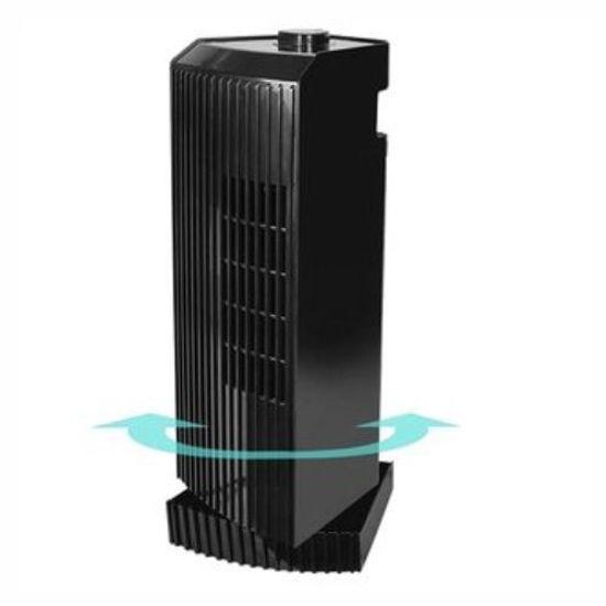 "Brightown Mtf02 14"" 3-Speed Oscillating Mini Tower Fan (Blk)"