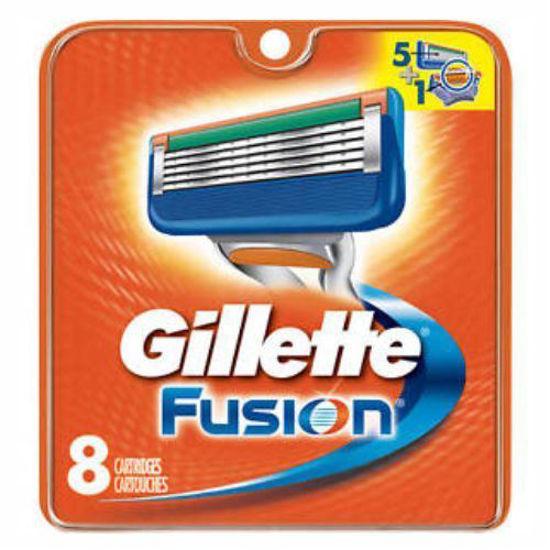 Gillette Fusion 5 Blade Refills - 8 Cartridges