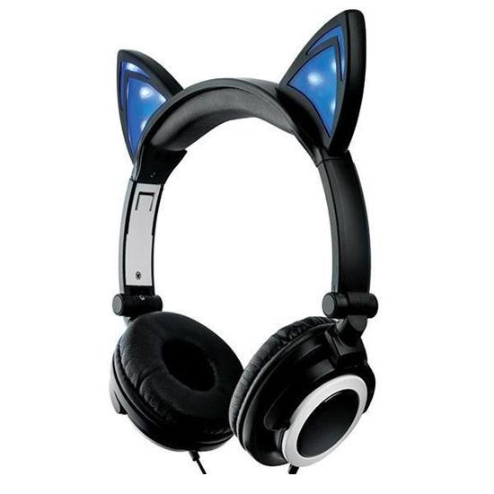 Soundlogic Xt Colour Changing Cat Ear Bluetooth Headphones