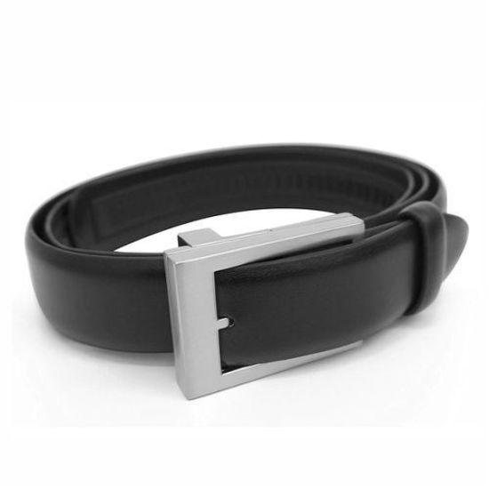 As Seen On Tv Click-It Adjustable Leather Belt - Black
