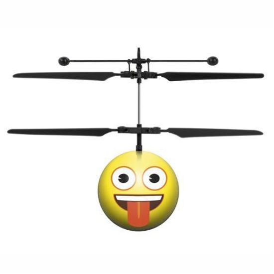 Crazy Face Emoji R/C Heliball
